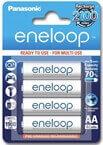 Polnilne baterije Panasonic Eneloop AA HR6, 1900 mAh, 4 kosi
