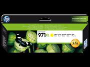 Poškodovana embalaža: kartuša HP CN628AE nr.971XL (rumena), original