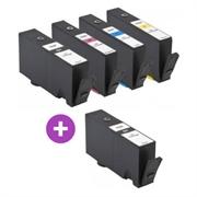 Komplet kartuš za HP nr.655 (2 x BK + C/M/Y), kompatibilen