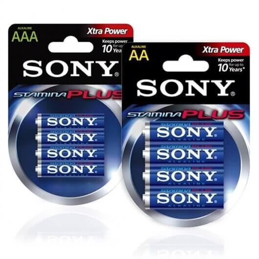 Komplet baterij Sony AAA-LR03 + AA-LR6, 8 kosov