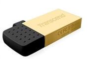 USB ključ Transcend 380G, 16 GB, micro USB + USB, zlat