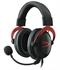 Slušalke z mikrofonom Kingston HyperX Cloud II (KHX-HSCP-RD), žične, igralne, rdeče