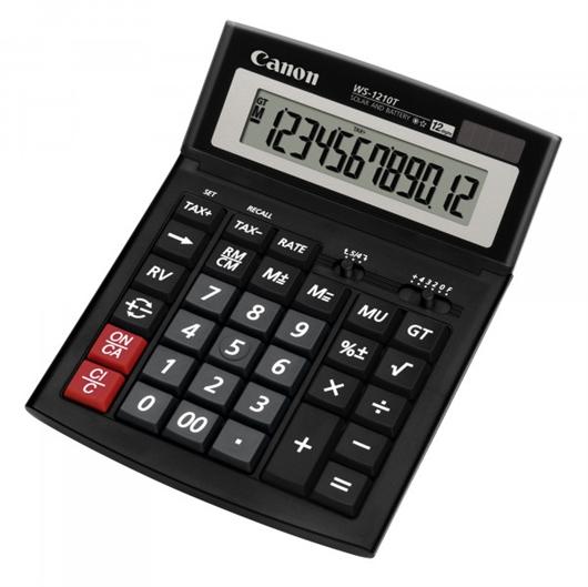 Kalkulator Canon WS-1210T, namizni