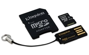 Spominska kartica Kingston microSD C10, 64 GB + adapter