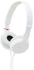 Slušalke Sony MDRZX110APW, žične, bela