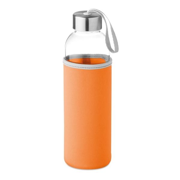 Steklenica Glass za vodo, 500 ml, oranžna