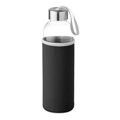 Steklenica Glass za vodo, 500 ml, črna