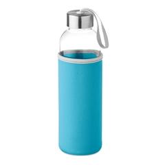 Steklenica Glass za vodo, 500 ml, turkizna
