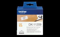 Etikete Brother DK-11209, neskončne, 29 mm x 62 mm, original
