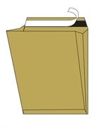 Kuverta vrečka A3 300 x 400 x 100 mm, rjava, za registratorje, 10 kosov