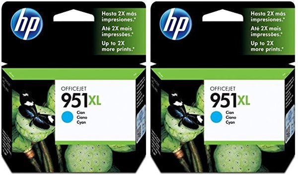 Kartuša HP CN046AE nr.951XL (modra), dvojno pakiranje, original