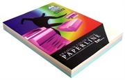 Barvni fotokopirni papir Paperline A4, pastelna mavrica, 250 listov