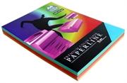 Barvni fotokopirni papir Paperline A4, intenzivna mavrica, 250 listov