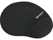 Podloga za miško Sandberg Gel Mousepad, črna