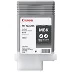 Poškodovana embalaža: kartuša Canon PFI-102MBK (matt črna), original