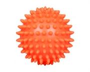 Žogica za sproščanje (masažna), 7 cm, oranžna