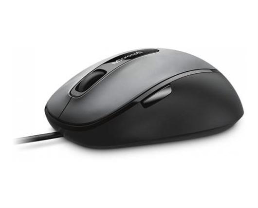 Miška Microsoft Comfort Mouse 4500, žična, črna