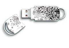 USB ključ Integral Xpression Flower black, 32 GB