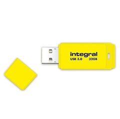 USB ključ Integral Neon, rumen, 32 GB
