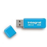 USB ključ Integral Neon, moder, 32 GB
