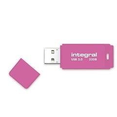 USB ključ Integral Neon, roza, 32 GB