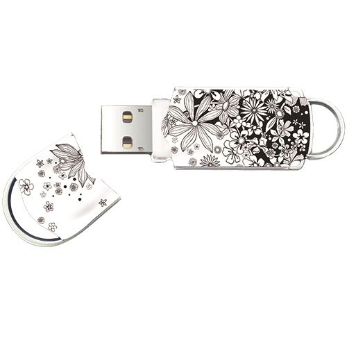 USB ključ Integral Xpression Flower, 64 GB