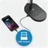 Namizna LED svetilka TaoTronics TT-DL31, brezžično polnjenje, črna