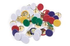 Risalni žebljički, barvni, 100 kosov