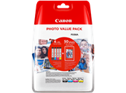Komplet kartuš Canon CLI-571 (BK/C/M/Y), original + papir (0386C006AA)