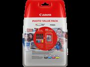 Komplet kartuš Canon CLI-551 XL (BK/C/M/Y), original + papir (6443B006AA)