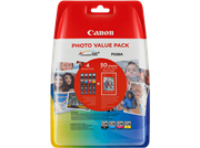 Komplet kartuš Canon CLI-526 (BK/C/M/Y), original + papir (4540B017AA)