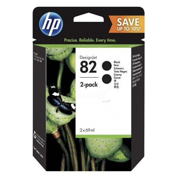 Kartuša HP P2V34A (CH565A) nr.82 (črna), dvojno pakiranje, original