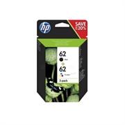 Komplet kartuš HP N9J71AE (nr.62 BK + CMY), dvojno pakiranje, original