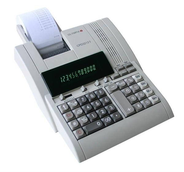 Namizni kalkulator Olympia CPD-3212S, z izpisom