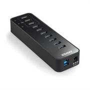 Namizni polnilec Anker 7-port USB 3.0 + 3 x PowerIQ hub