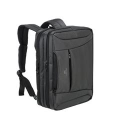 """Spremenljiva torba/nahrbtnik RivaCase 8290, 16"""", za prenosnik, črna"""