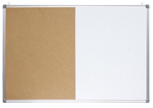 Tabla piši-briši + pluta Optima, 60 x 90 cm