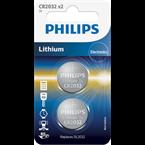 Baterija Philips CR2032, 3V, 2 kosa