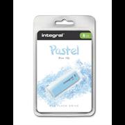 USB ključ Integral Pastel, 8 GB, blue sky