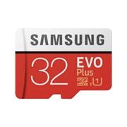 Spominska kartica Samsung EVO+ Micro SDHC UHS-I class10, 32 GB + adapter
