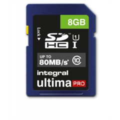 Spominska kartica Integral SDHC UltimaPro CLASS10, 8 GB