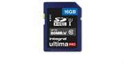 Spominska kartica Integral SDHC UltimaPro CLASS10, 16 GB