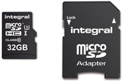 Spominska kartica Integral Action Camera Micro SDHC, 32 GB + adapter