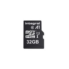Spominska kartica Integral A1 App Performance microSDHC, 32 GB + adapter