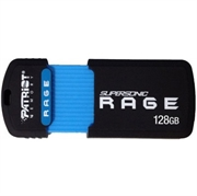USB ključ Patriot Supersonic Rage XT 128 GB, črno-modra