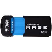 USB ključ Patriot Supersonic Rage XT, 64 GB, črno-modra