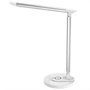 Namizna LED TaoTronics  DL36 svetilka z brezžično polnilno postajo, bela