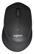 Miška Logitech M330 Silent Plus, brezžična, črna