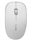 Miška Rapoo 3510, brezžična, bela