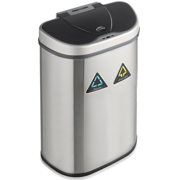 Koš za ločevanje odpadkov VonHaus, 70 L
